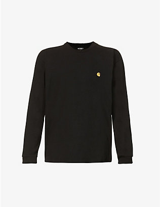 CARHARTT WIP:Chase 平纹针织棉 T 恤