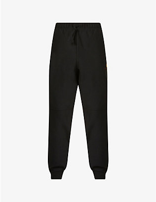 CARHARTT WIP: Logo-embroidered cotton-jersey jogging bottoms