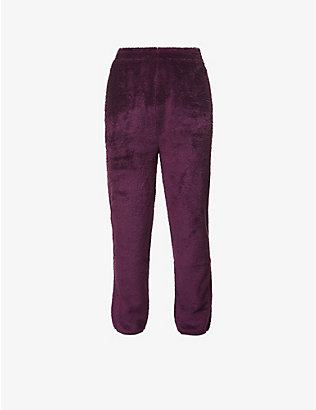 CARHARTT WIP: Fernie fleece trousers
