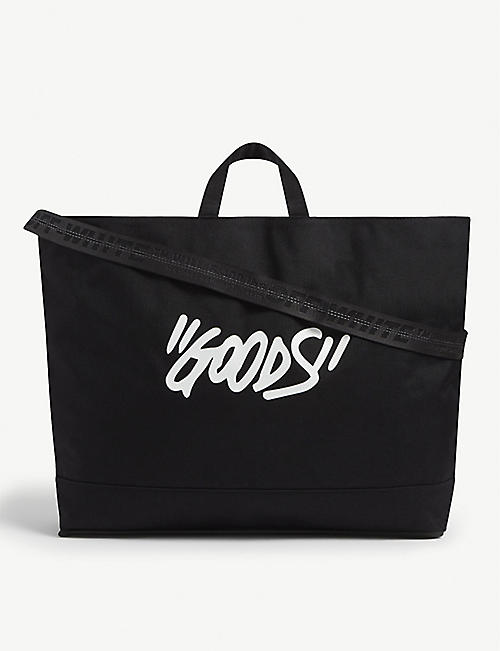 OFF-WHITE C/O VIRGIL ABLOH: Quote cotton tote bag