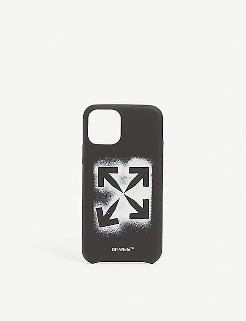 OFF-WHITE C/O VIRGIL ABLOH: Stencil iPhone 11 phone case