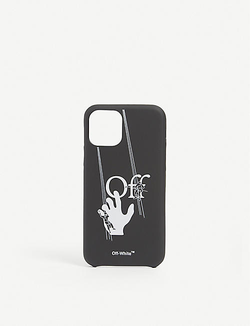 OFF-WHITE C/O VIRGIL ABLOH: Hand Painter iPhone 11 Pro phone case