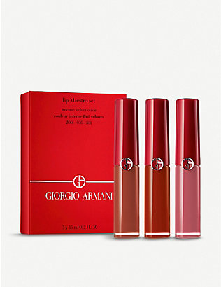 GIORGIO ARMANI: Lip Maestro Set 3 x 3.5ml