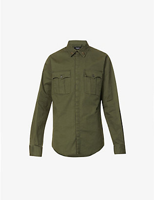 DSQUARED2: Regular-fit cotton shirt
