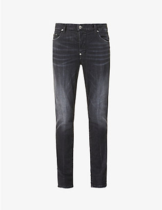 DSQUARED2: Super Twinky mid-rise stretch-denim jeans