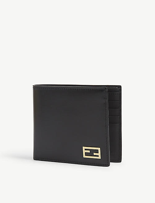 FENDI: Leather billfold wallet