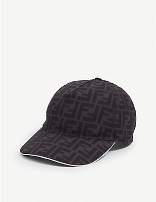 FENDI: FF canvas baseball cap