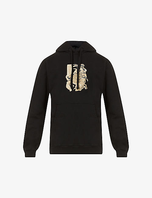 MAHARISHI: Dragons Journey organic cotton hoody