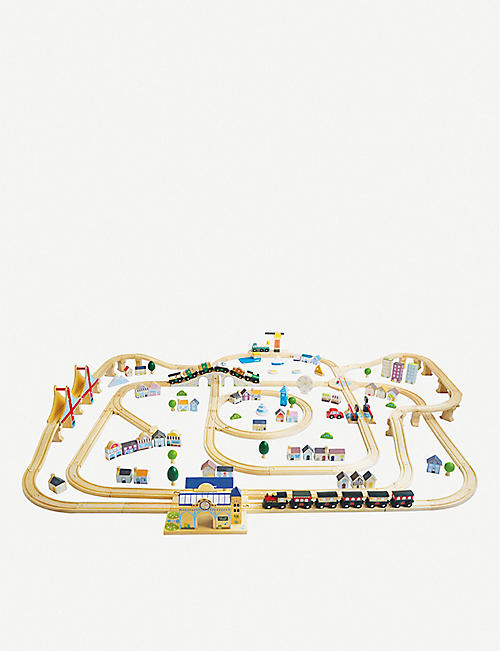LE TOY VAN: Royal Express 180-piece wooden train set