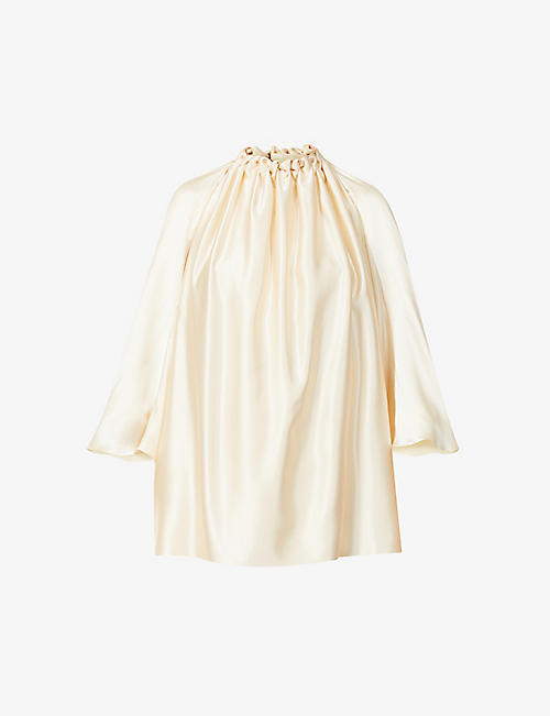 ROKSANDA: Ava ruched silk top
