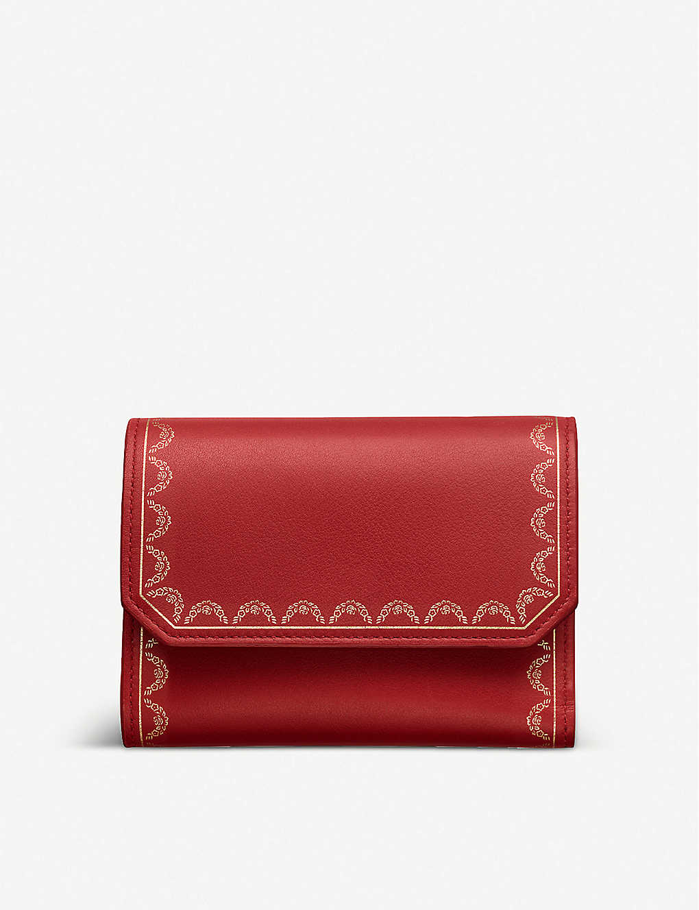 CARTIER: Guirlande de Cartier small leather wallet