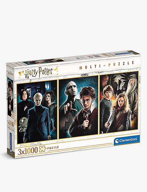 PUZZLES: Clementoni Harry Potter puzzles set of three
