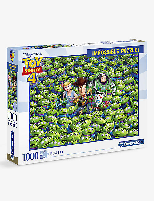 PUZZLES: Clementoni Disney Toy Story 4 Impossible puzzle 1000 pieces