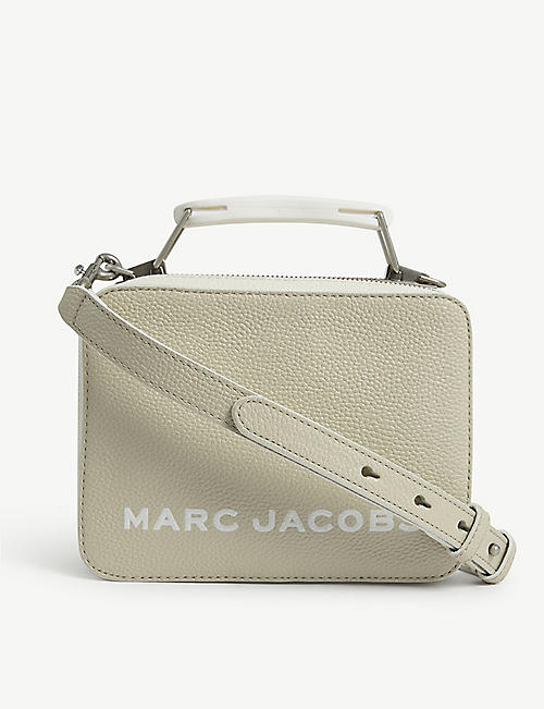 MARC JACOBS: The Box Bag leather cross-body bag