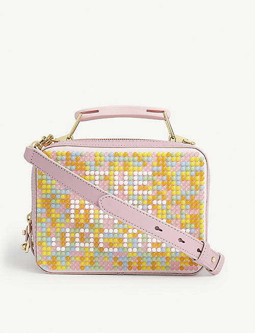 MARC JACOBS: Jelly Bean Box Bag leather cross-body bag
