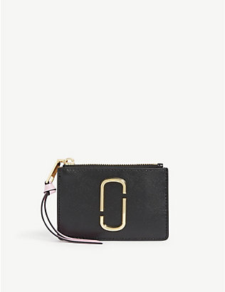 MARC JACOBS: Snapshot multi leather wallet