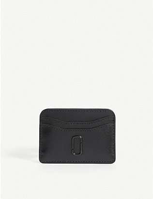 MARC JACOBS: The Snapshot DTM leather card holder