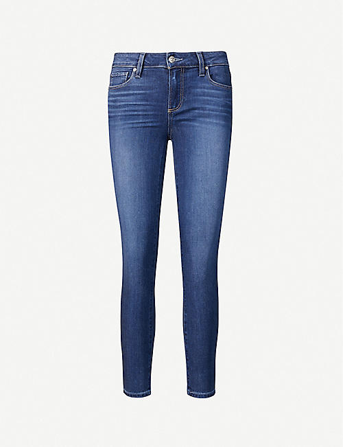 PAIGE: Verdugo skinny mid-rise jeans