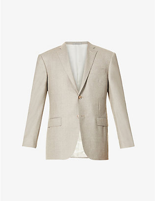 CORNELIANI: Single-breasted wool jacket