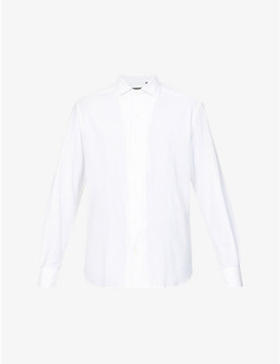 CORNELIANI: Regular-fit stretch-jersey shirt