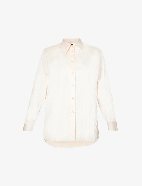 MM6 MAISON MARGIELA: Relaxed-fit cotton-blend shirt