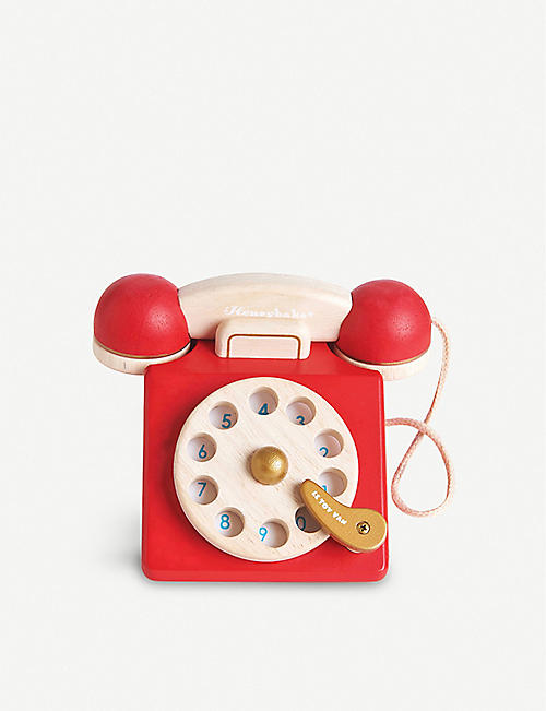 LE TOY VAN: Vintage wooden phone
