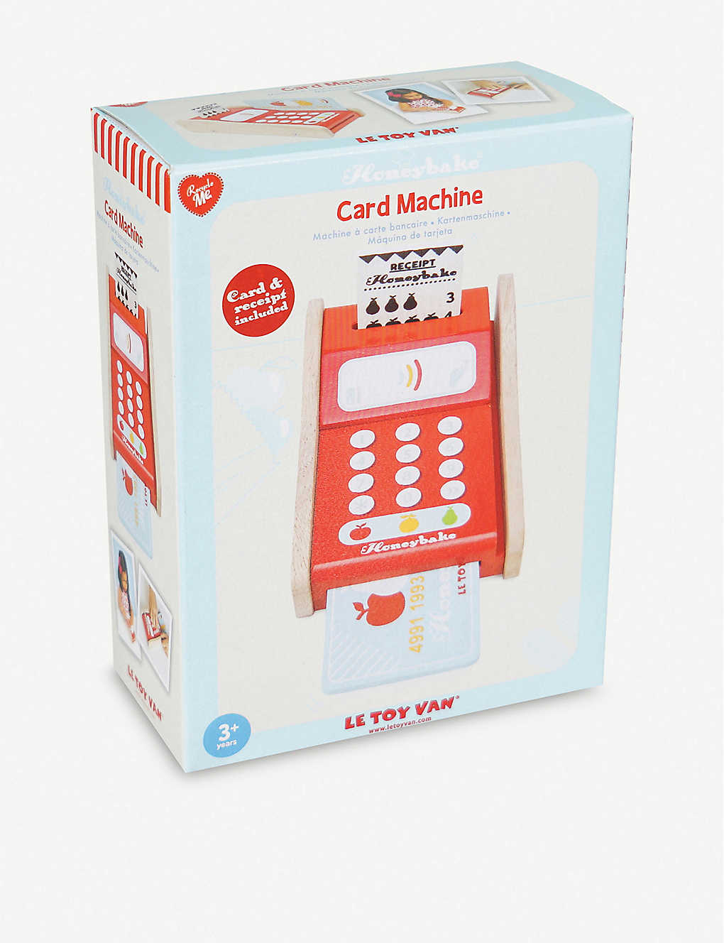 LE TOY VAN: Card Machine