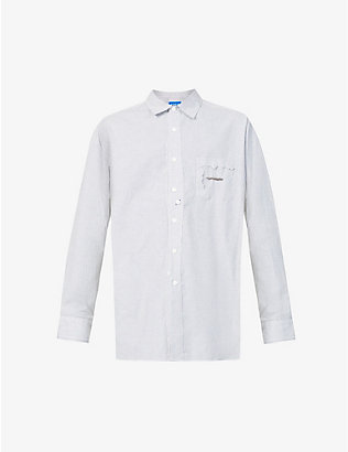 ADER ERROR: Checked oversized cotton shirt