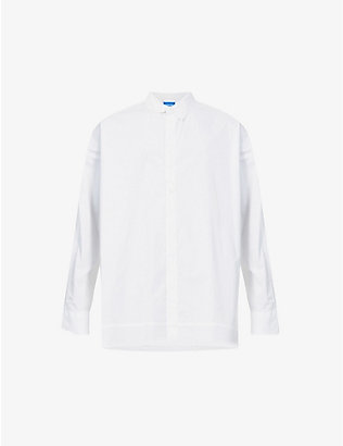 ADER ERROR: Oversized cotton-blend shirt