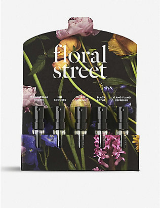 FLORAL STREET: Mini Dark Discovery eau de parfum set 5 x 1.5ml