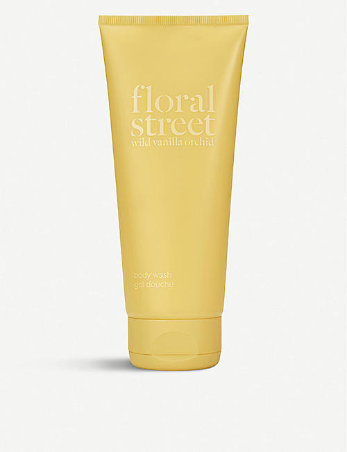 FLORAL STREET: Wild Vanilla Orchid Body Wash 200ml