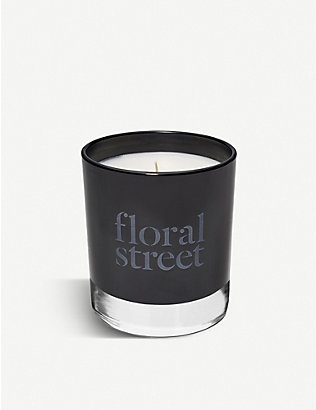 FLORAL STREET: Fireplace scented candle 200g