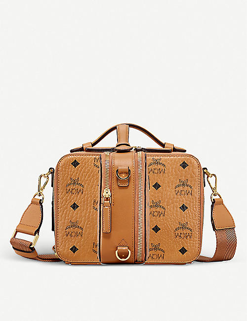 MCM: Klass small coated-canvas cross-body bag