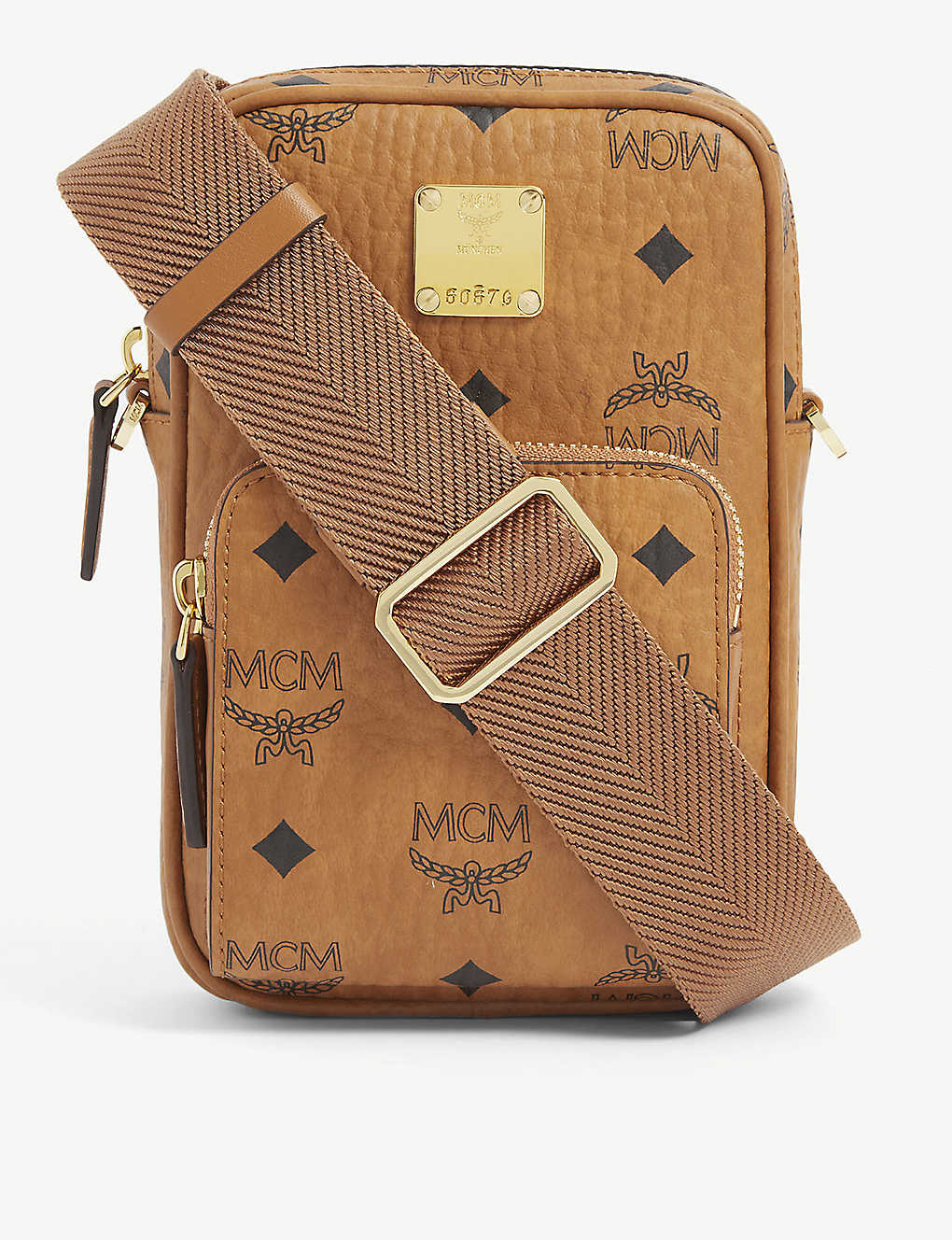 MCM: Visetos leather cross-body bag