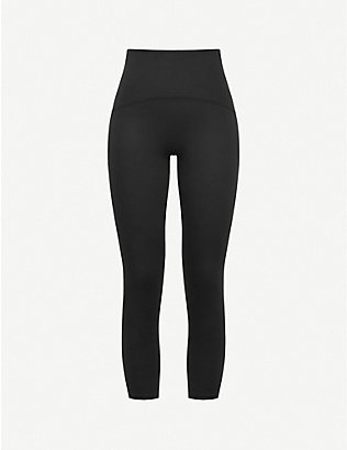 SPANX ACTIVE: Booty Boost crop high-rise stretch-jersey leggings
