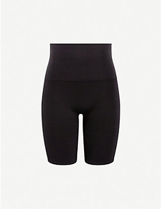 SPANX ACTIVE: Look At Me Now high-rise stretch-woven shorts