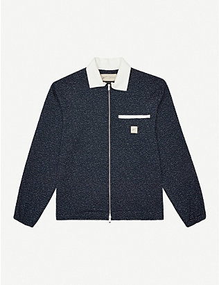PREVU: Albion flecked stretch-woven overshirt