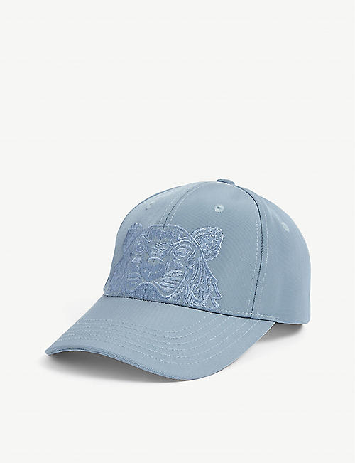 KENZO: Logo-embroidered woven cap