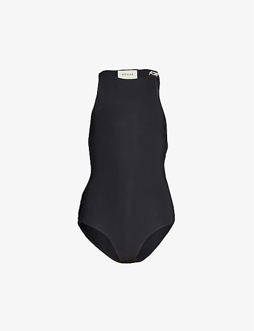 GUCCI: Crystal-embellished swimsuit
