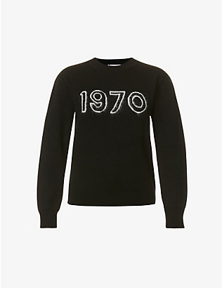 BELLA FREUD: 1970 Glow wool-blend jumper