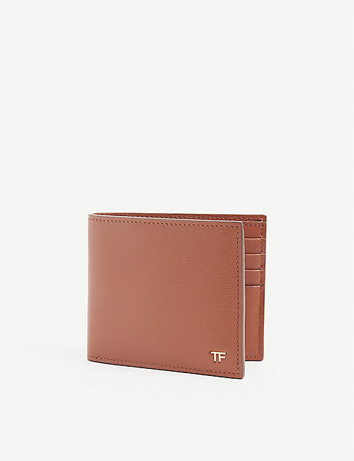 TOM FORD: T-Line leather billfold wallet