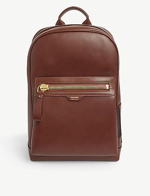TOM FORD: Smooth leather backpack