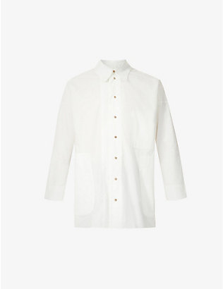 TOOGOOD: The Woodcutter relaxed-fit cotton-poplin shirt