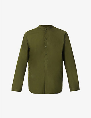 TOOGOOD: The Botanist relaxed-fit cotton-poplin shirt