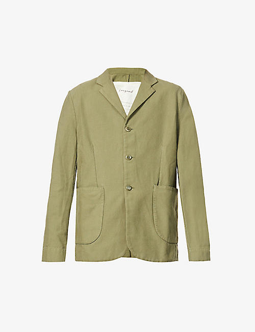 TOOGOOD: Metalworker cotton-blend jacket