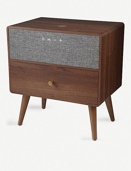 THE TECH BAR: KOBLE Ralph Smart walnut side table