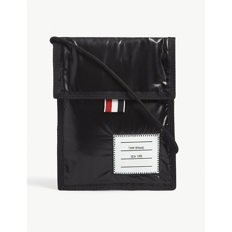 Thom Browne DRAWCORD NECK POUCH