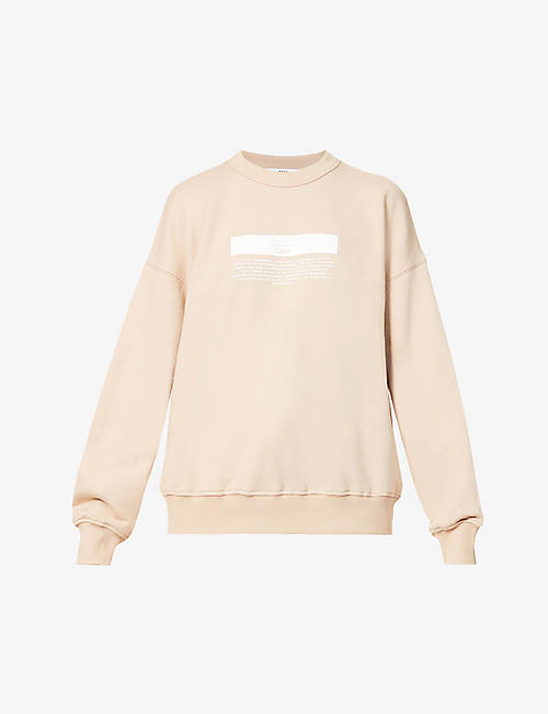 CAMILLA AND MARC: Blythe cotton-jersey sweatshirt