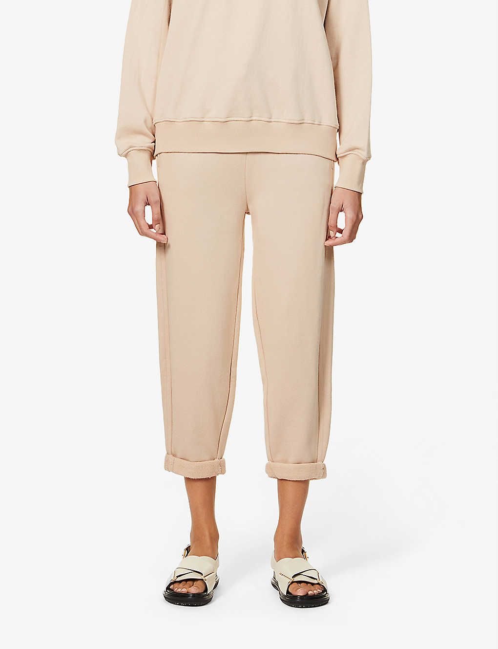CAMILLA AND MARC: Blythe cotton-jersey jogging bottoms