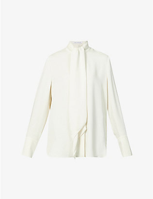 CAMILLA AND MARC: Dempsey crepe shirt